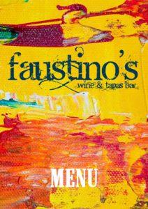 Faustino's Midhurst menu